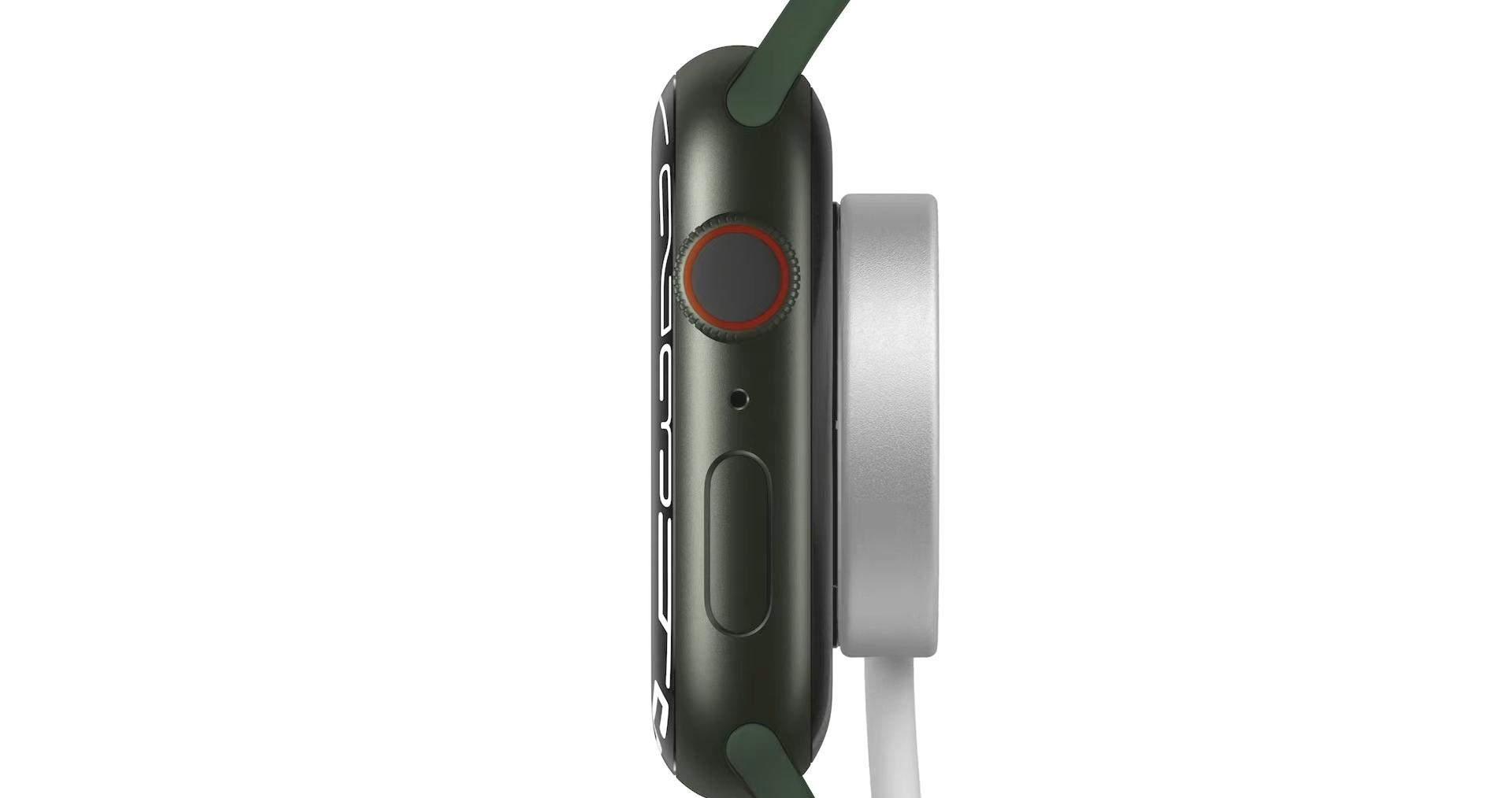 Заряджання Apple Watch Series 7