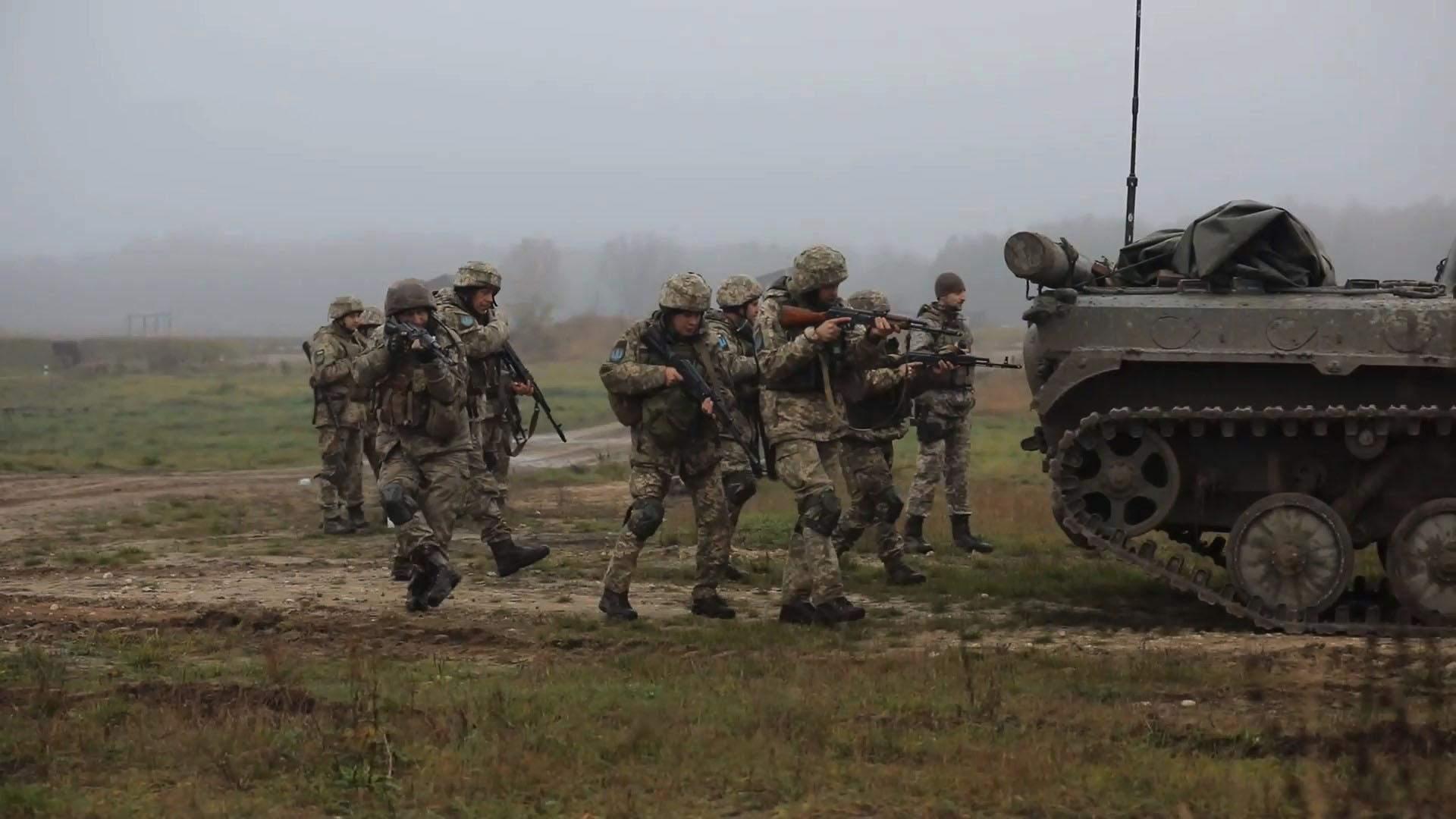 Військові НАТО тренувалися з українцями