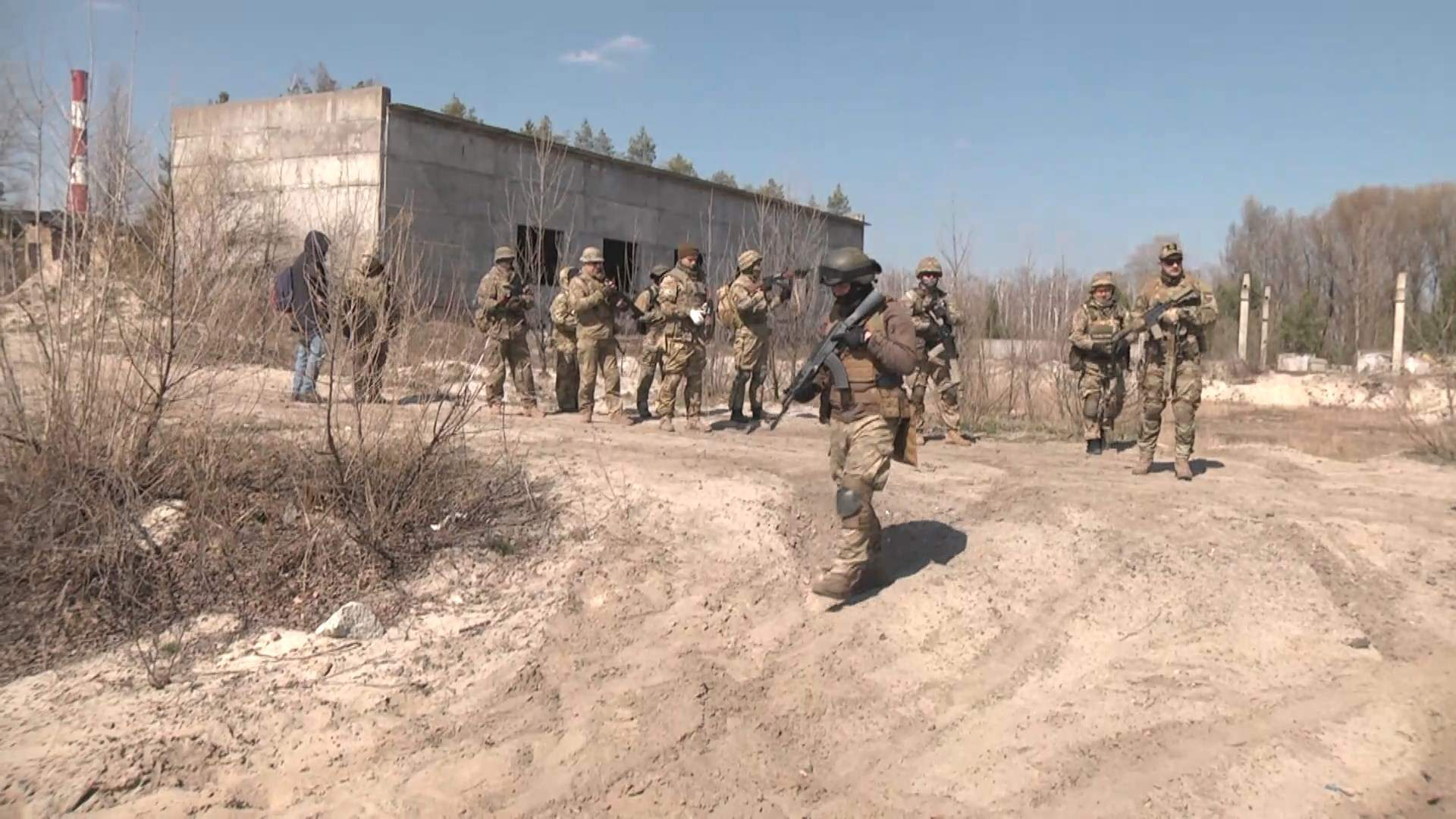 територіальна оборона тренування київ