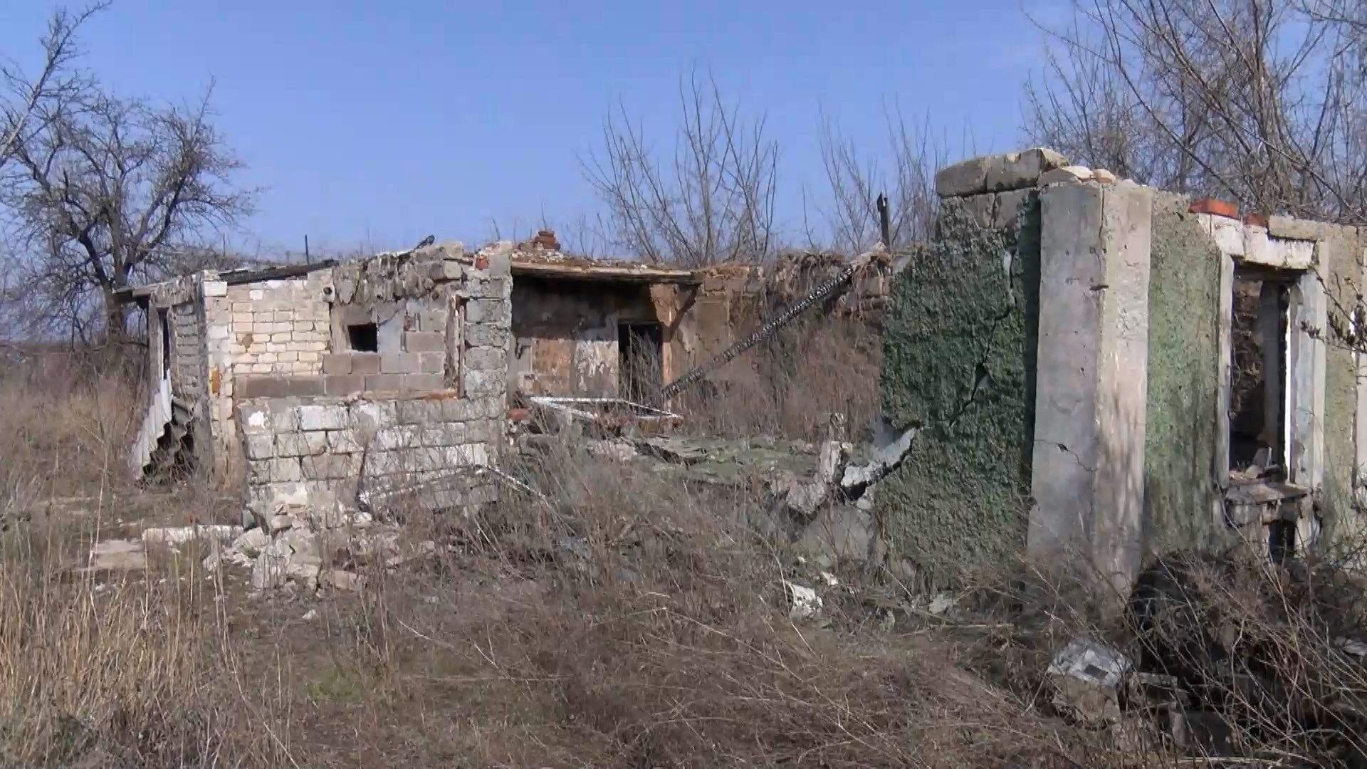 авдіївка зруйноване житло обстріли бойовиків