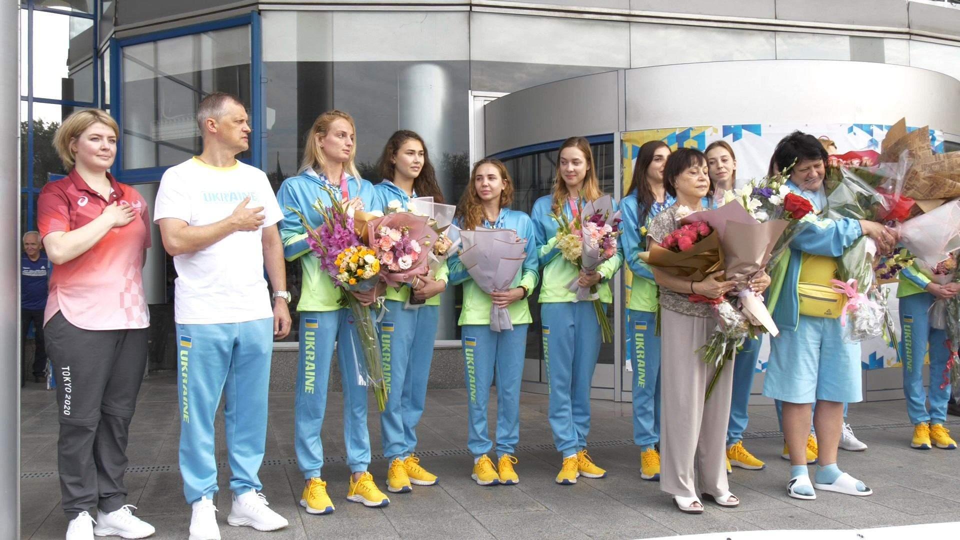 збірна україни з синхронного плавання