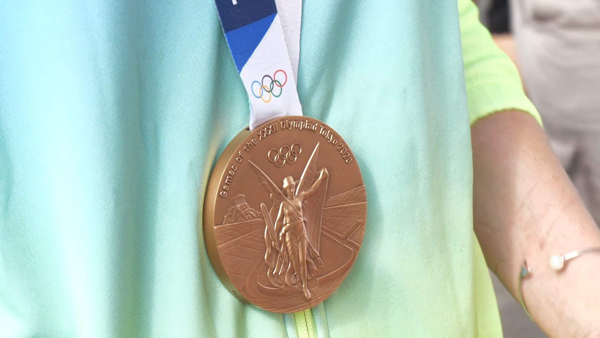 бронзова медаль українських синхроністок