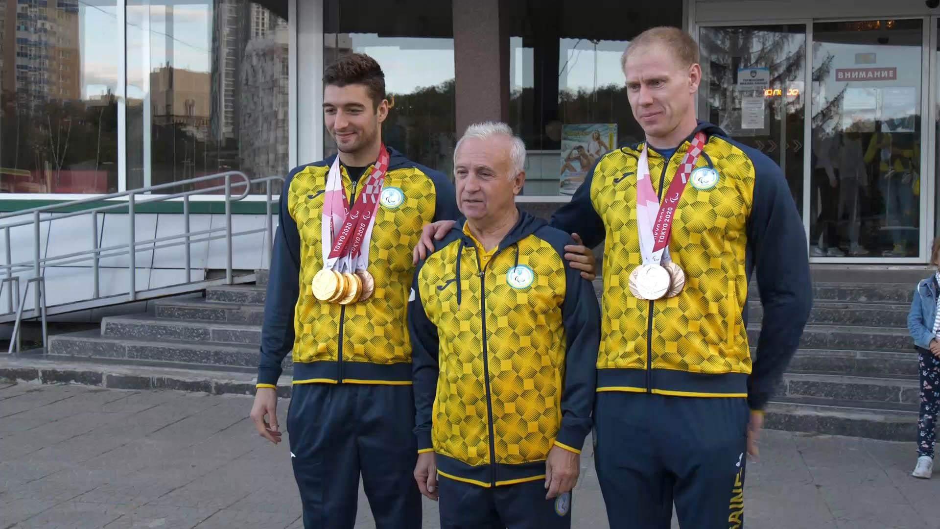 максим крипак максим веракса тренер василь кеке паралімпіада-2020 плавання