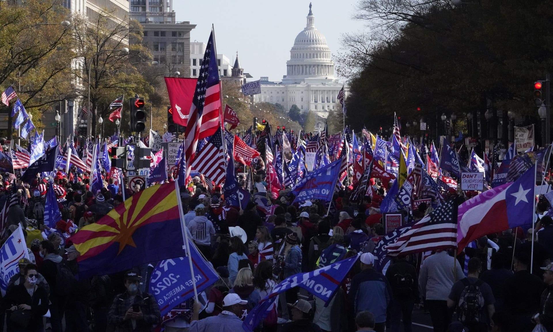 Марш на підтримку Трампа у Вашингтоні