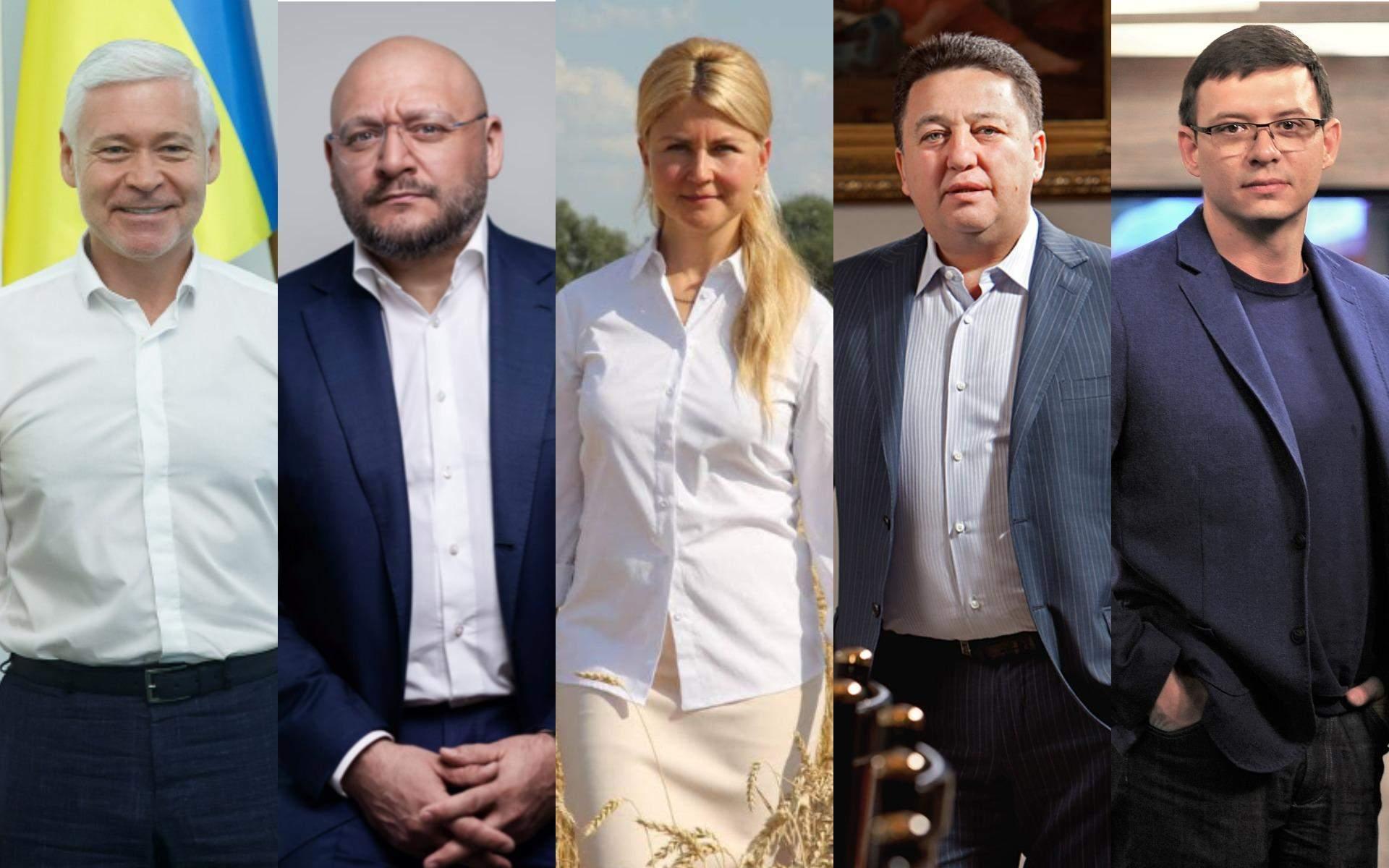 Потенційні кандидати в мера Харкова