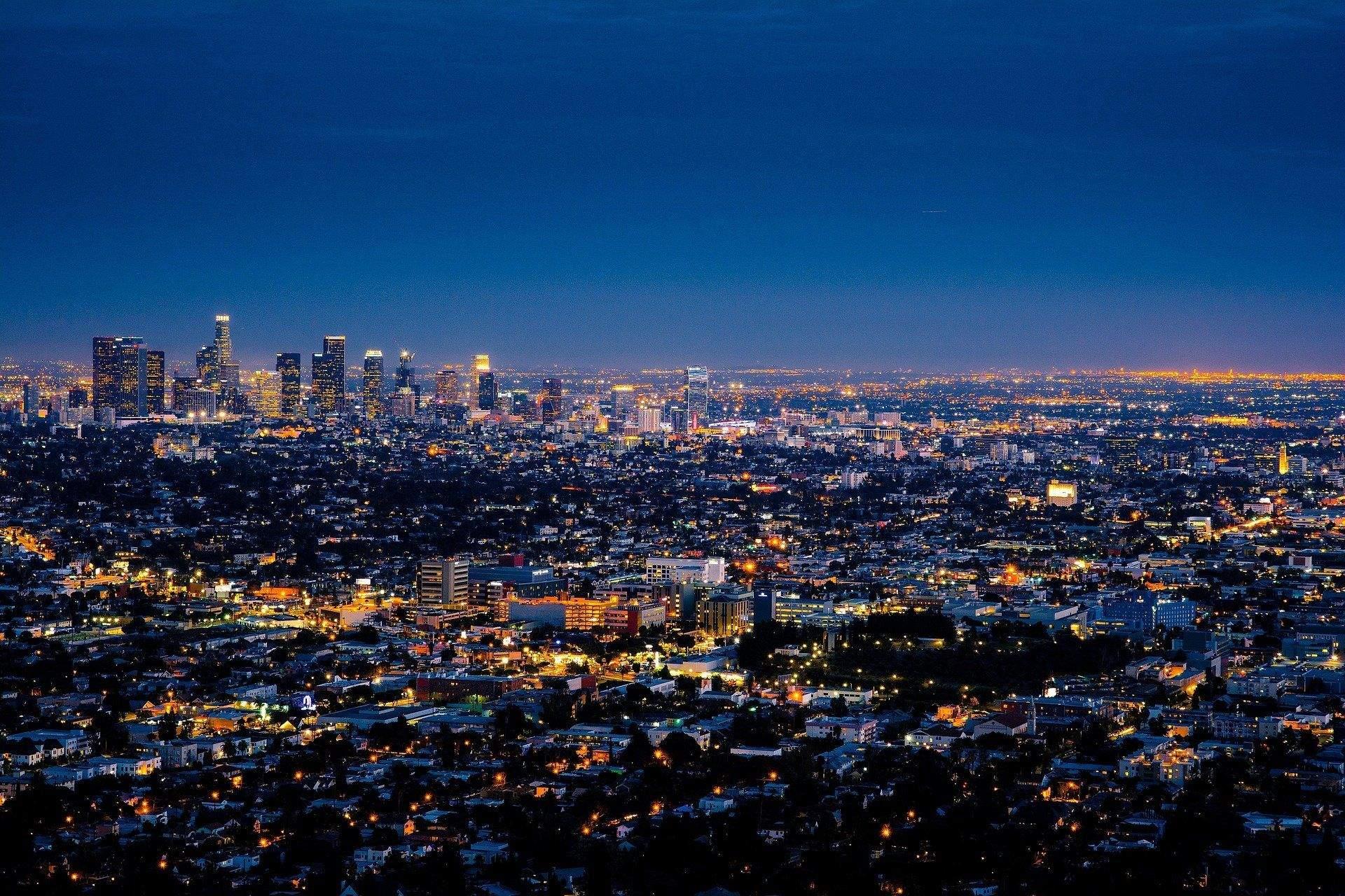 Нічний Лос-Анджелес