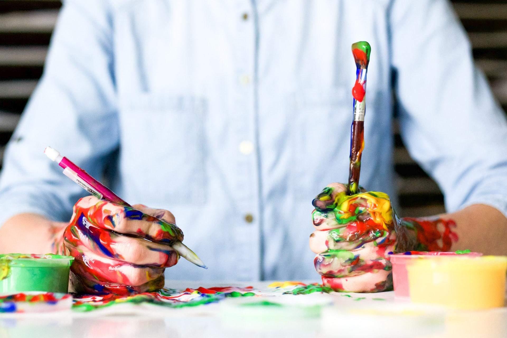 Мистецтво допомагає позбутися від негативу / Фото Unsplash
