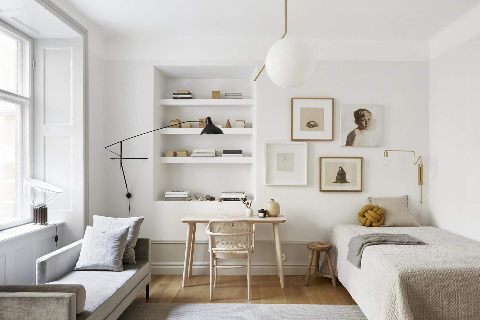 Вариант оформления квартиры для одного человека