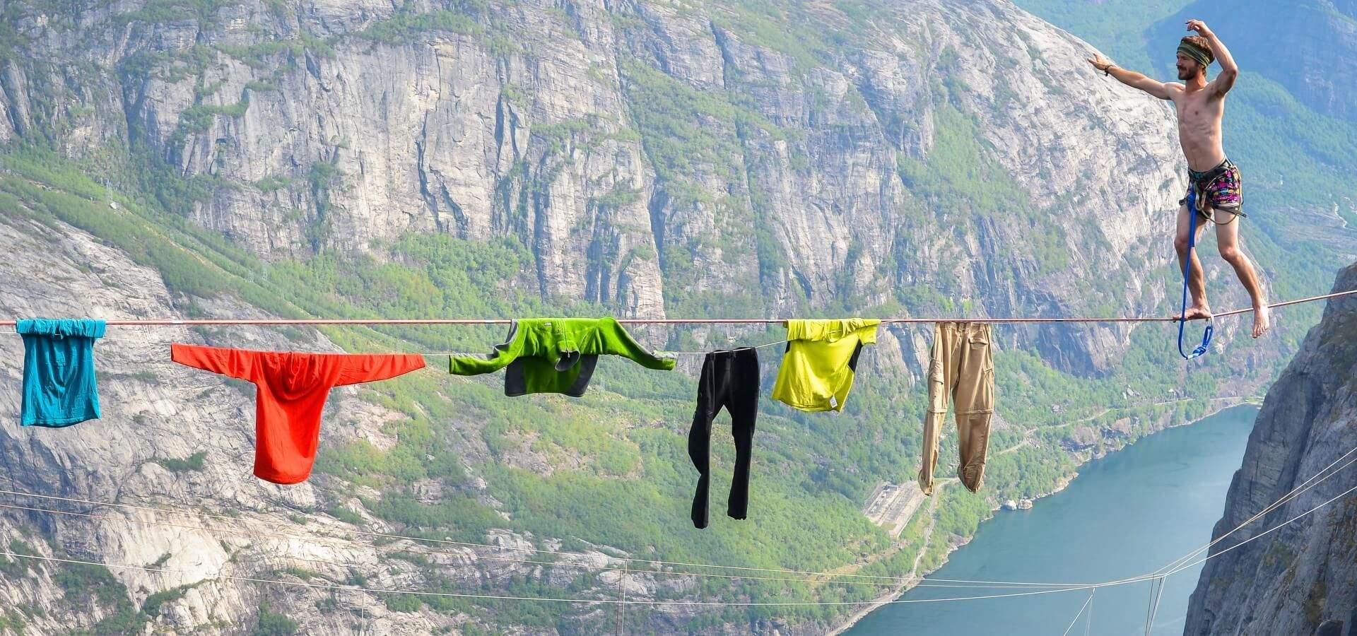 Гелем можно не только помыться, но и постирать одежду