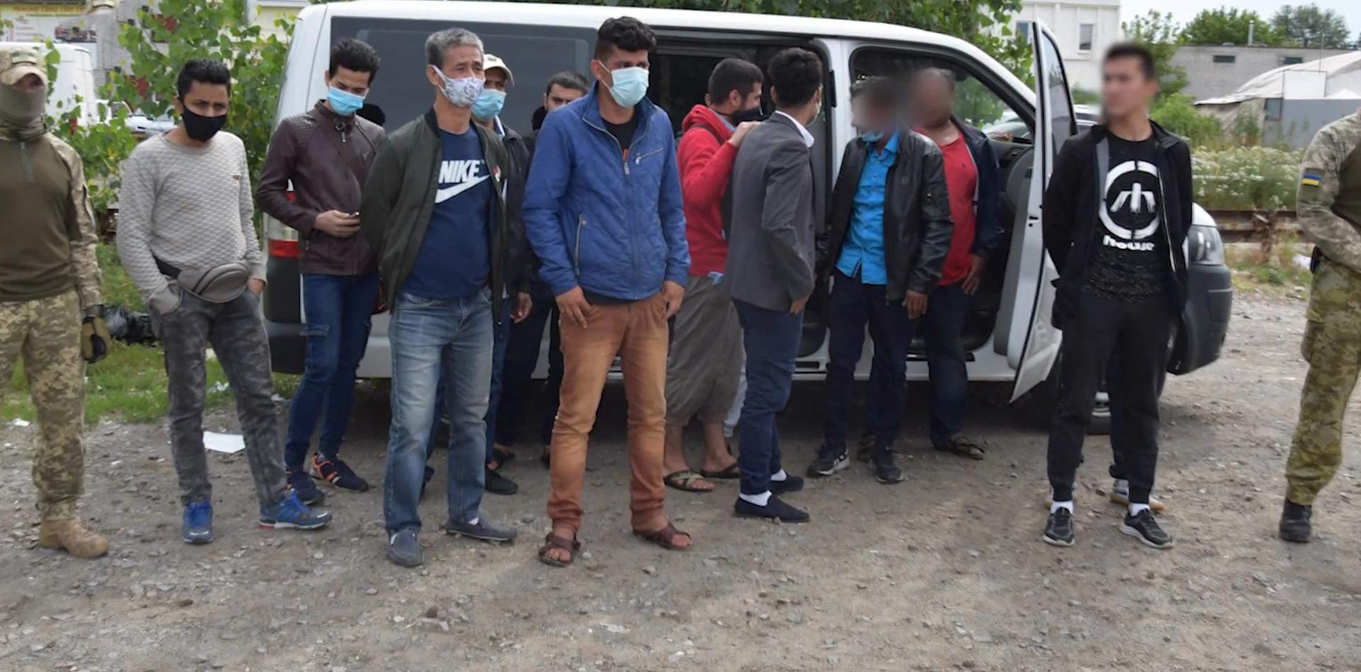 Затримання нелегальних мігрантів