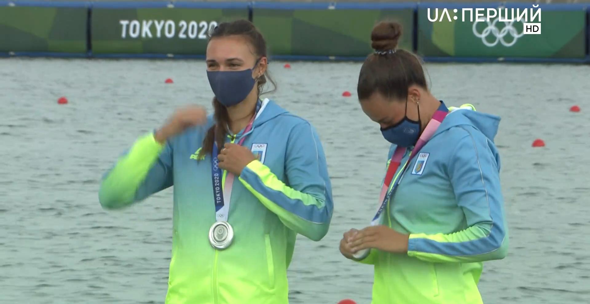 Лузан, Четверікова, каное-двійки, Олімпіада-2020, Токіо-2020, срібло, спорт, Україна.