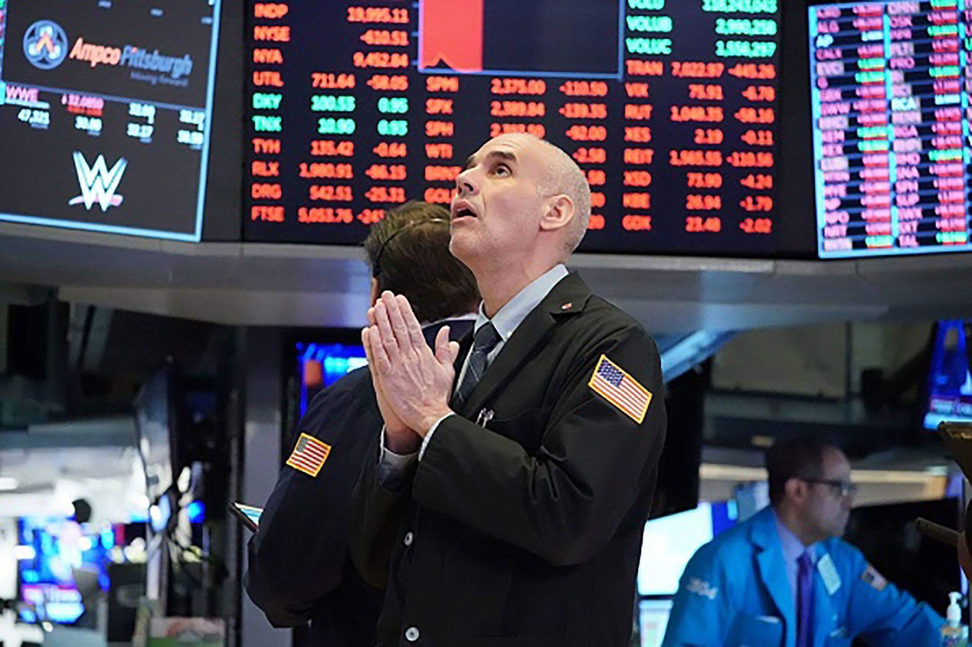 обвал фондових бірж