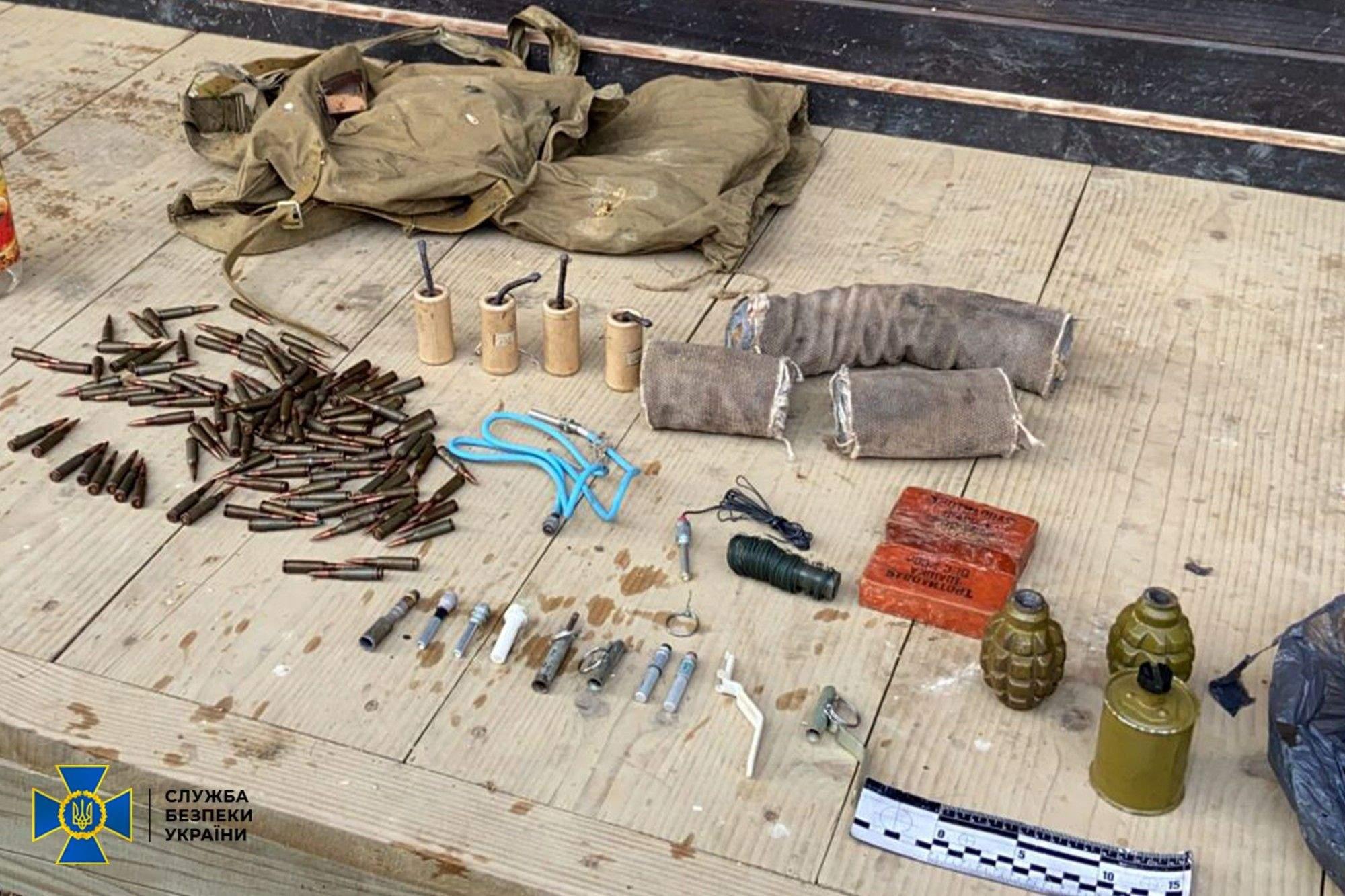 Арсенал вражає: СБУ знайшла сховище зі зброєю у громадського активіста з Львівщини