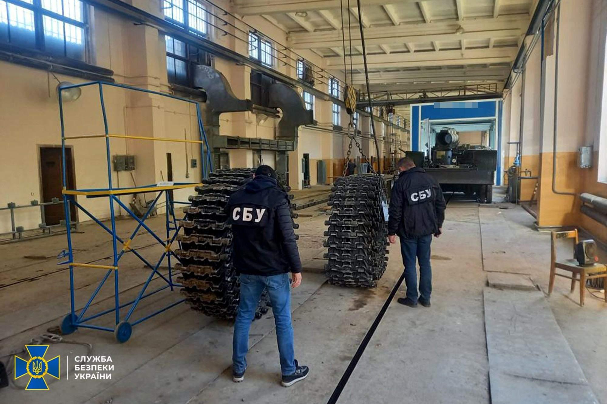 Контррозвідка СБУ викрила корупційну схему на Львівському бронетанковому заводі