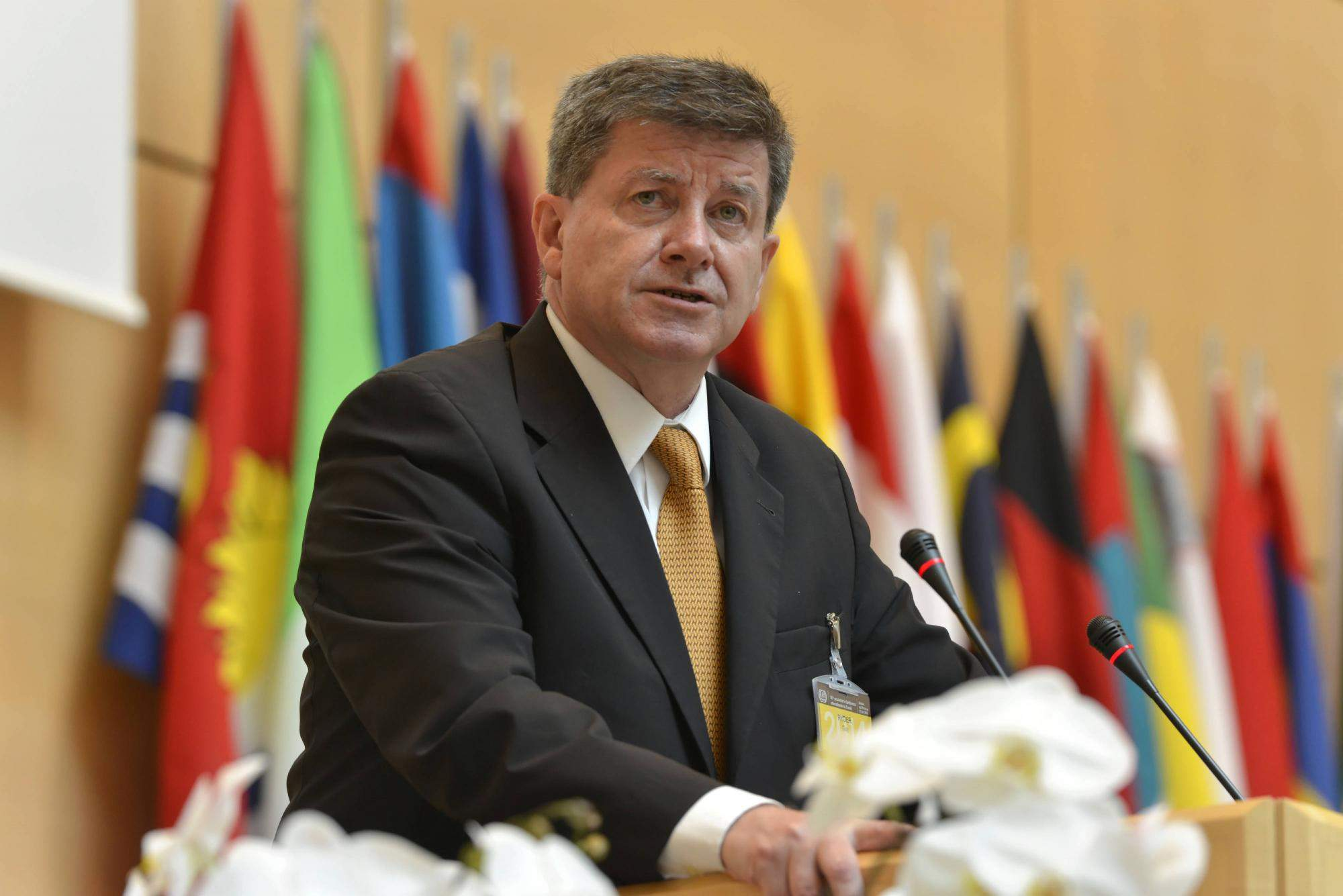Гай Райдер - генеральний директор МОП