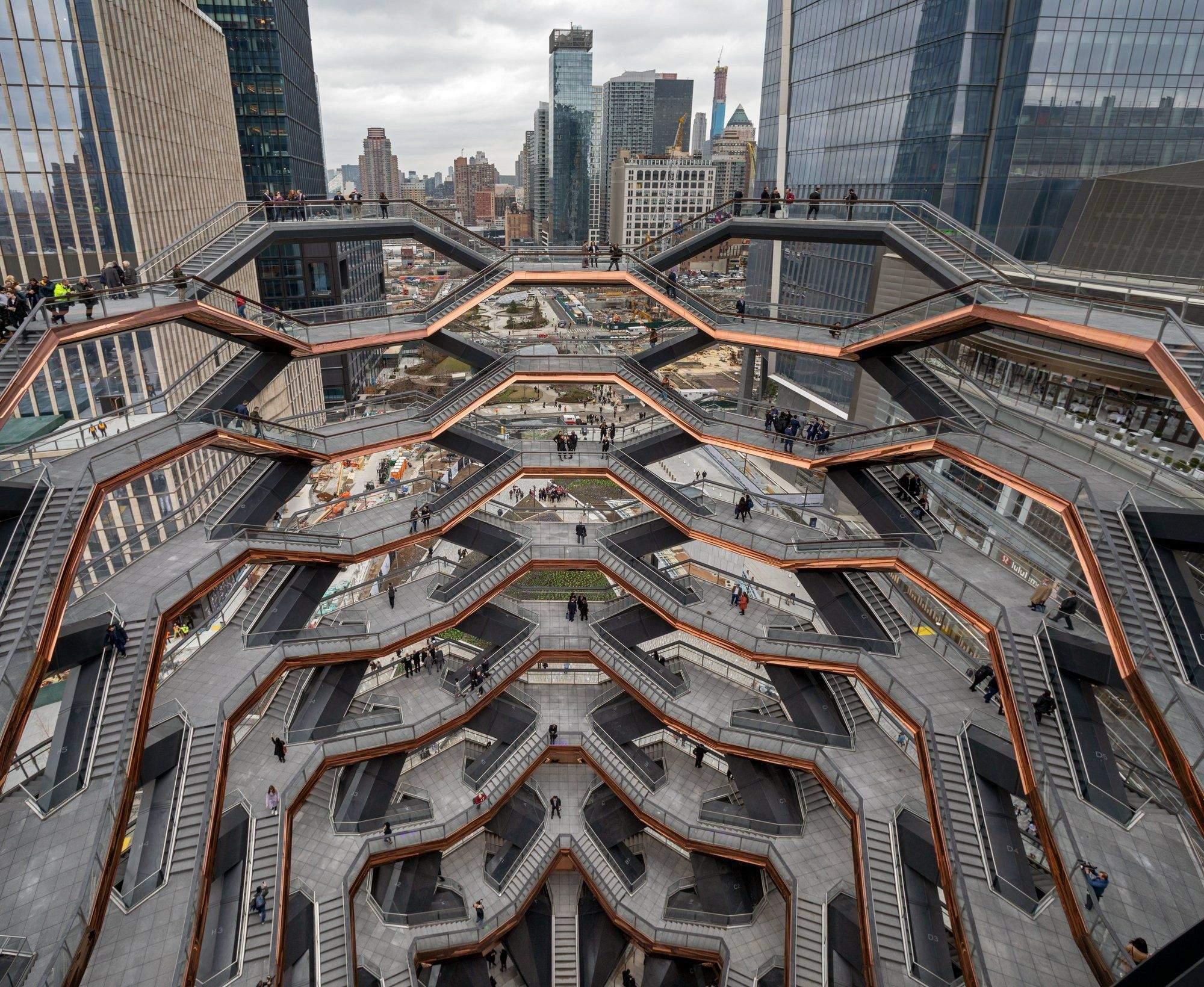 Вид на Нью-Йорк із оглядового майданчика / Фото The New York Times
