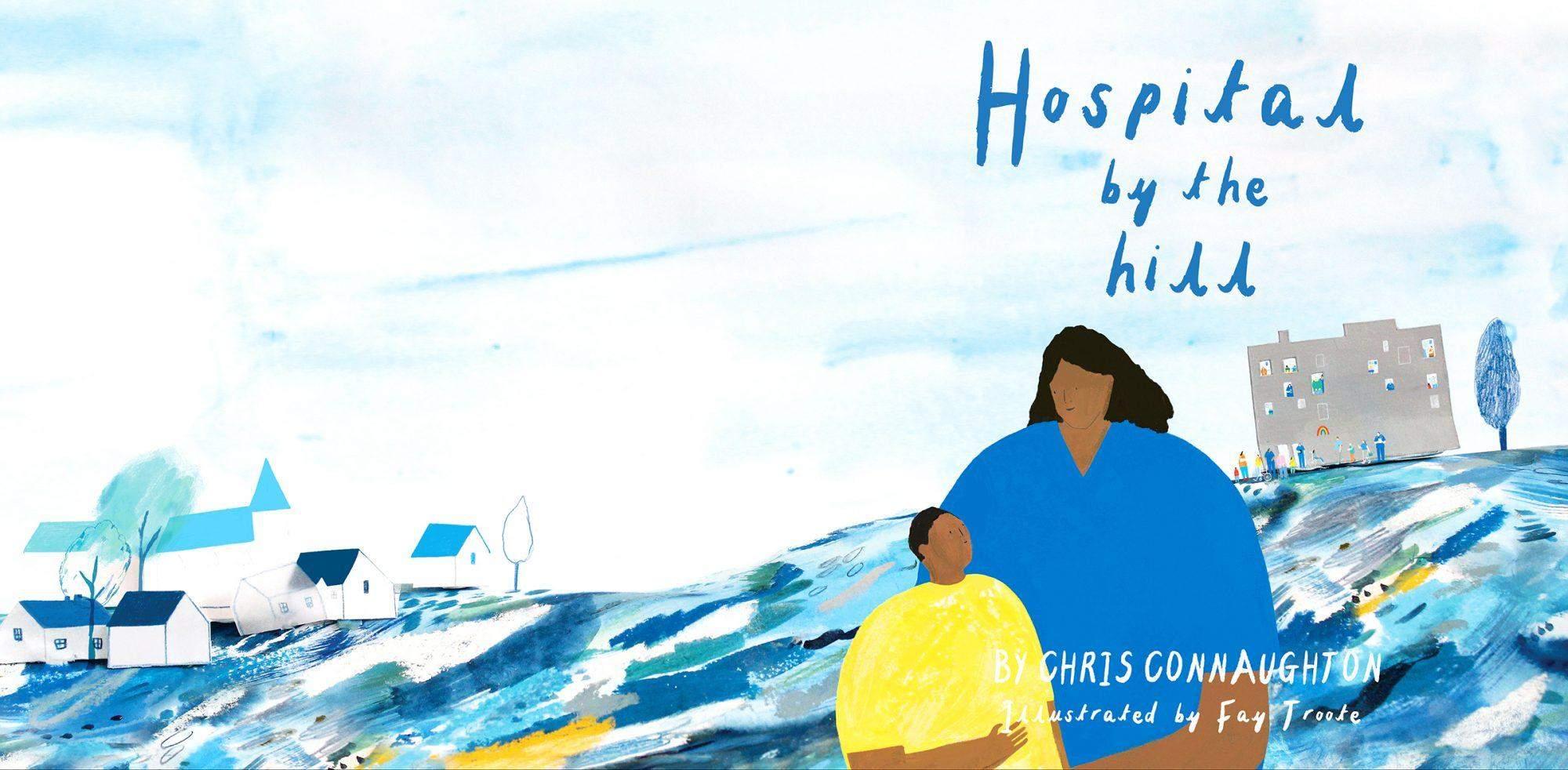 Ілюстрація з книжки Hospital by the Hill