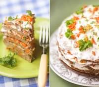 Как приготовить вкусный печеночный торт: пошаговый рецепт