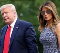 Редкий выход: Мелания Трамп надела платье, которое подойдет на любые случаи жизни