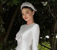 Модель Міранда Керр поділилась ексклюзивними фото зі свого весілля з мільярдером