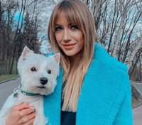 Леся Никитюк растрогала сеть фотографиями с домашним любимцем