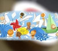 Международный день защиты детей: Google подготовил для малышей яркий дудл