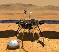 Марсіанський апарат InSight нарешті помістив свій вимірювальний зонд під поверхню