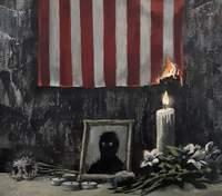 Художник Бенксі показав нову роботу на тему расизму та зробив приголомшливе порівняння: фото