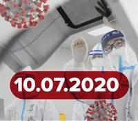 Головні новини про коронавірус 10 липня: що впливає на ризик смерті від COVID-19, статистика