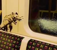 Нову роботу Бенксі про коронавірус знищили: чому у метро не залишили малюнок