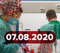 Новини про коронавірус 7 серпня:оновленні карантинні зони та антирекорди у світі