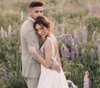 Нікіта Добринін і Даша Квіткова зіграли весілля: розкішні фото сукні та церемонії