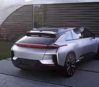 Прототип рекордного электромобиля Faraday Future выставлен на аукцион
