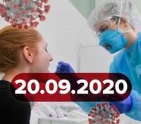 Новости о коронавирусе 20 сентября: 2966 новых случаев в Украине, куда идут деньги COVID-фонда