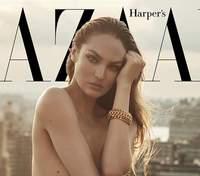 """""""Ангел"""" Victoria's Secret Кэндис Свейнпол обнажилась на обложке модного глянца: чудесные фото"""