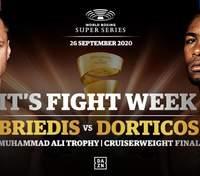 Бриедис-Дортикос: прогноз букмекеров на финальный бой WBSS