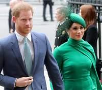 """Меган Маркл и принц Гарри впервые после""""мэгзита"""" выступили на телевидении: видео"""