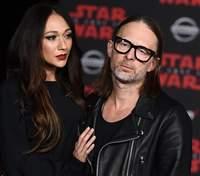 Лідер гурту Radiohead Том Йорк одружився: чарівні фото
