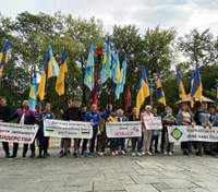Студенти Олімпійського коледжу мітингують біля Кабміну: у них лише одна вимога