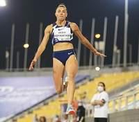 Украинка Бех-Романчук с личным рекордом победила на последнем этапе Бриллиантовой лиги в Дохе