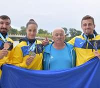 Украина выиграла восемь медалей на этапе Кубка мира по гребле