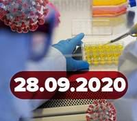 Новости о коронавирусе 28 сентября: в Украине новые карантинные зоны, более 200 тысяч больных