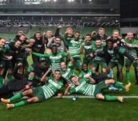 """""""Ференцварош"""" на чолі з Ребровим вперше за 25 років років вийшов у групу Ліги чемпіонів: відео"""