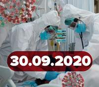 Новости о коронавирусе 30 сентября: рекорд больных в Украине, вспышка в Верховной Раде
