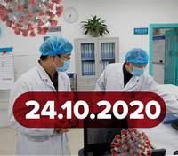 Новини про коронавірус 24 жовтня: захворів президент Польщі, рекордна кількість тестів