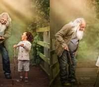 У мене не було жодного фото з бабусею і дідусем: вражаючі кадри людей похилого віку з онуками