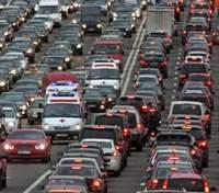 Пробки в Киеве утром 29 октября