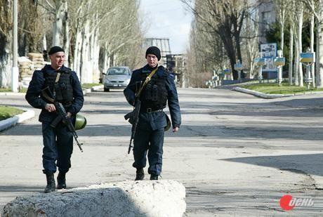 Крымские военные уже переселились в Донецк [Фото]