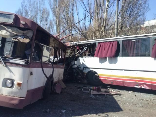 На Донетчине столкнулись маршрутка и автобус: погибли два человека