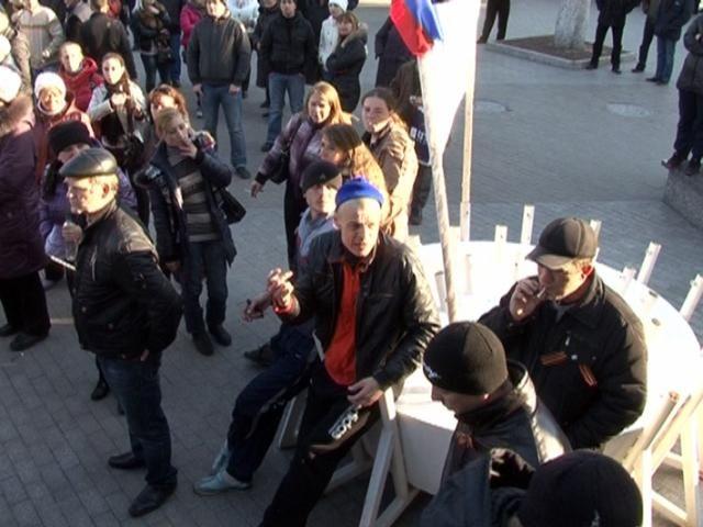 Милиция открыла уголовное производство в связи с блокированием колии в Донецке [Фото]